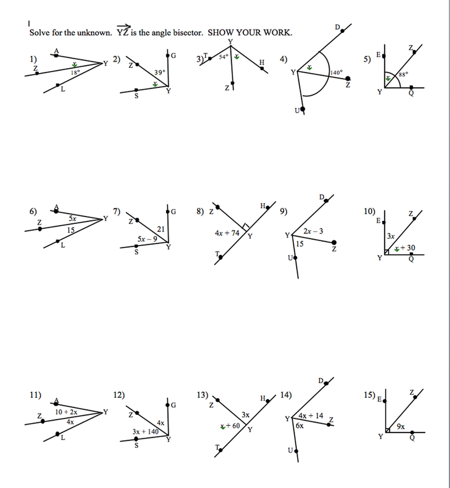 angle addition postulate debbylandmath - Angle Addition Postulate Worksheet